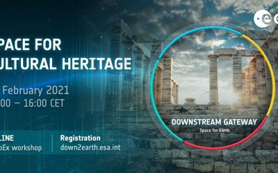 The ESA Downstream Gateway: Space for Cultural Heritage – workshop online on February 24, 2021