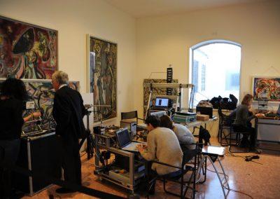 POLLOCK_TECHNIC_FOCUS Jackson Pollock dal 1942 al 1947: studio degli undici dipinti della collezione Peggy Guggenheim di Venezia