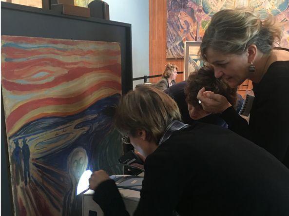 Nuove indagini MOLAB gettano luce su The Scream di Edvard Munch nel Munch Museum di Oslo