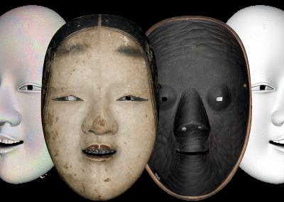 MATEGIAPPI – Digitalizzazione delle maschere del teatro del NOH