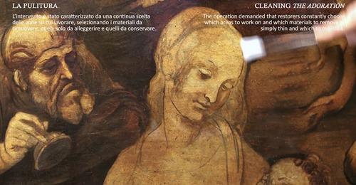 Il restauro dell'Adorazione dei Magi di Leonardo da Vinci: una campagna di indagini scientifiche per conoscere  struttura, materiali e problemi di conservazione