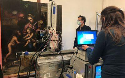 Raffaello e la sua bottega: indagini diagnostiche al Museo e Real Bosco di Capodimonte